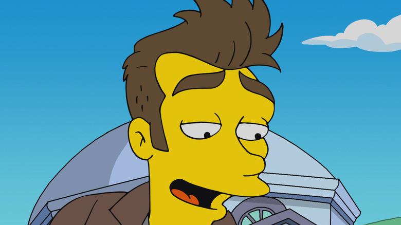The Simpsons' Morrissey caricature