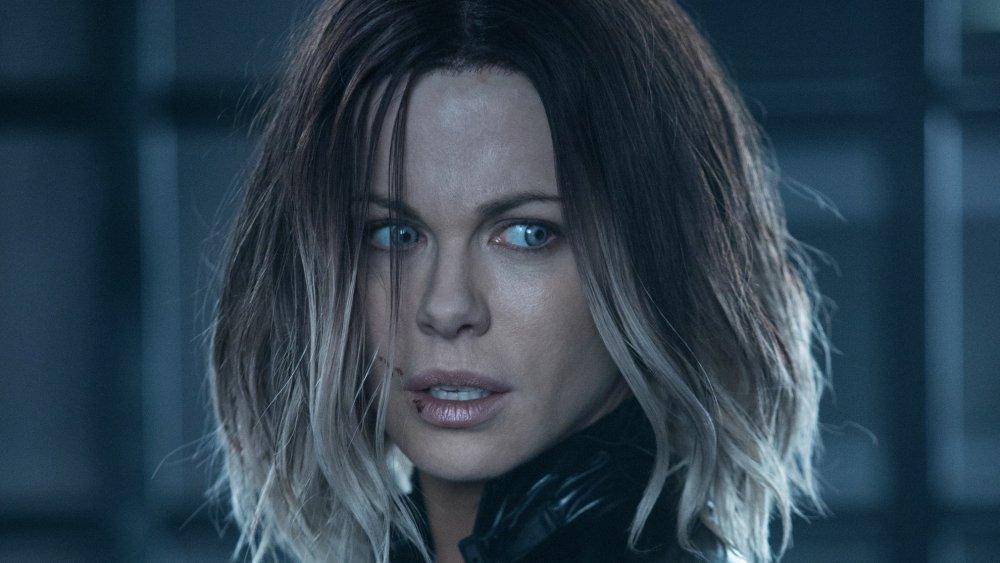 Kate Beckinsale as Selene in Underworld