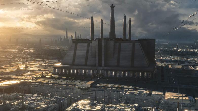 Jedi Temple on Coruscant