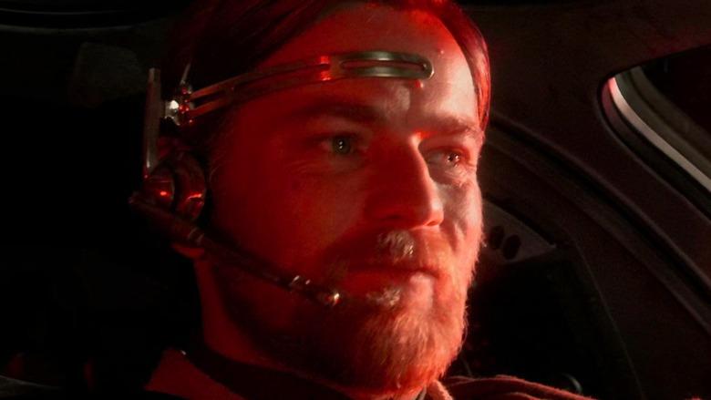 Obi-Wan in the cockpit