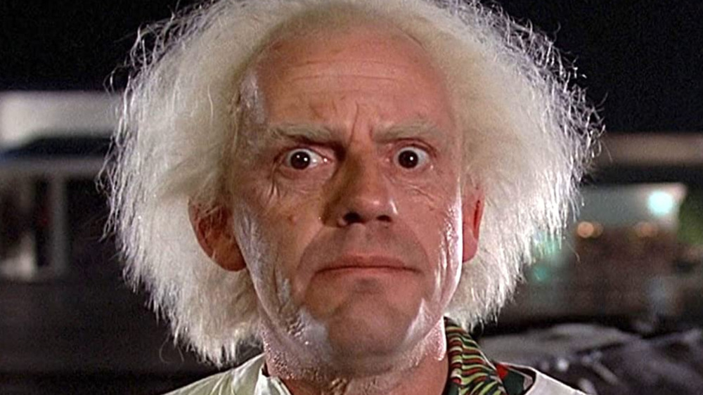 Christopher Lloyd Doc Brown Back to the Future