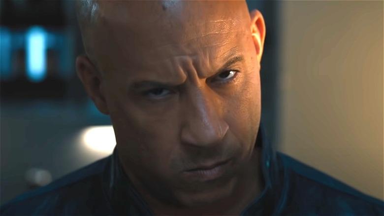 Vin Diesel serious face in 'F9'
