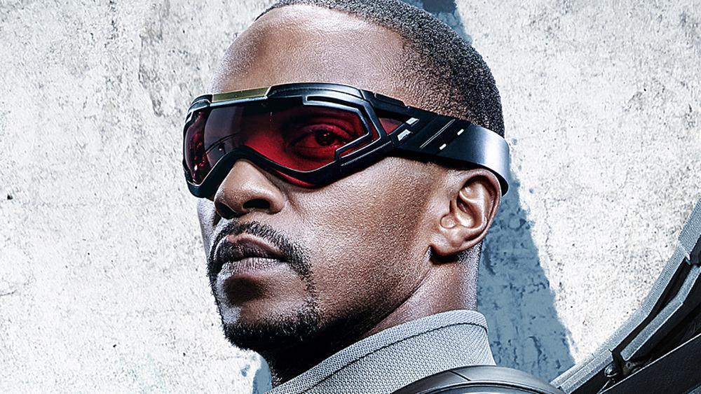 Sam in his Falcon goggles