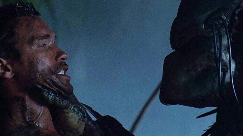 Predator grabs Arnold