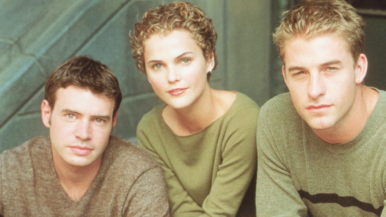 The stars of Felicity
