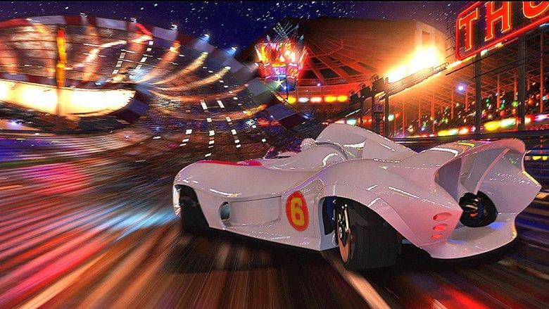 Scene from Speed Racer