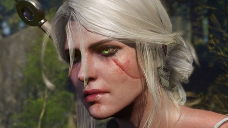 The Witcher 3 Ciri Face
