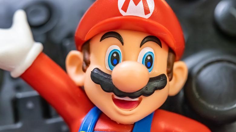 Mario Nintendo controller