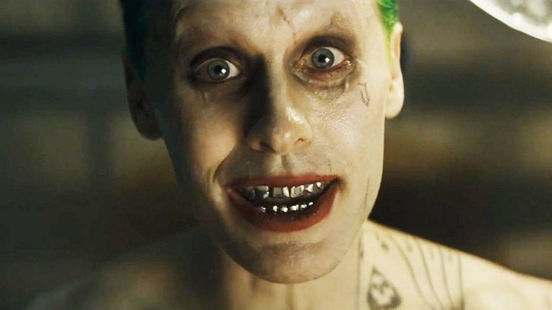 Jared Leto as Joker in Suicide Squad