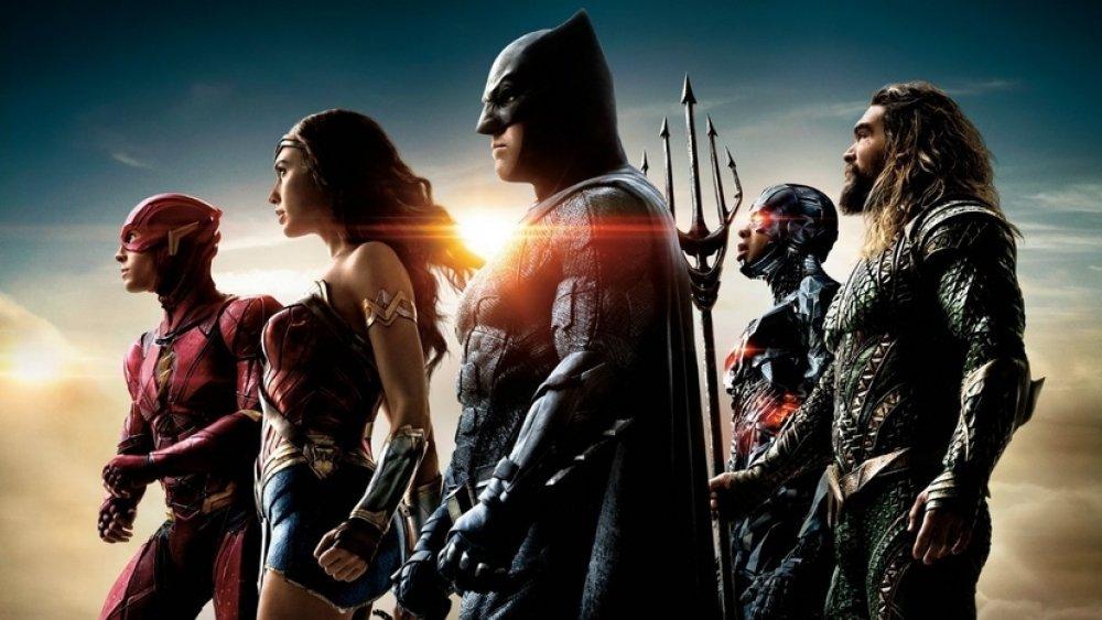 Promo still for Justice League