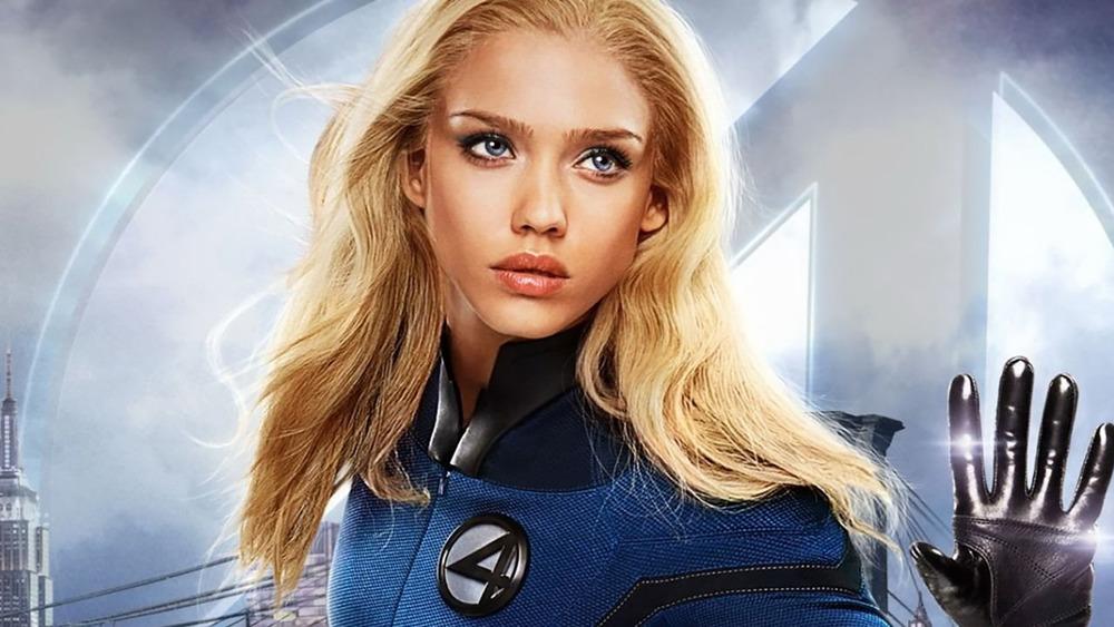 Jessica Alba as Sue Storm in Fantastic Four