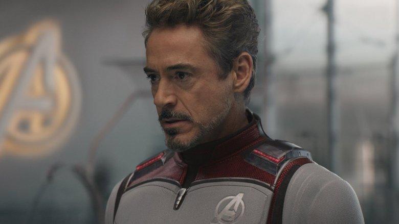 Robert Downey Jr. as Tony Stark in Avengers Endgame