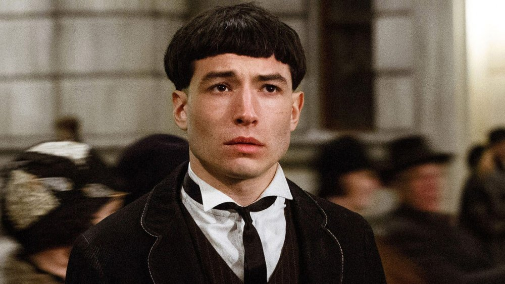 Credence Barebone in Fantastic Beasts and Where to Find Them
