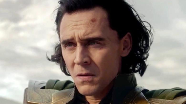 Loki looking confused