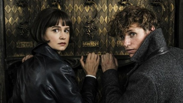 Scene from Fantastic Beasts