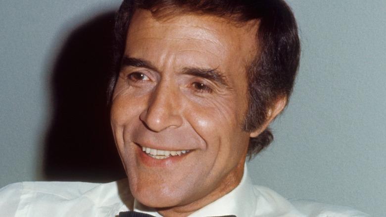 Ricardo Montalban smiles