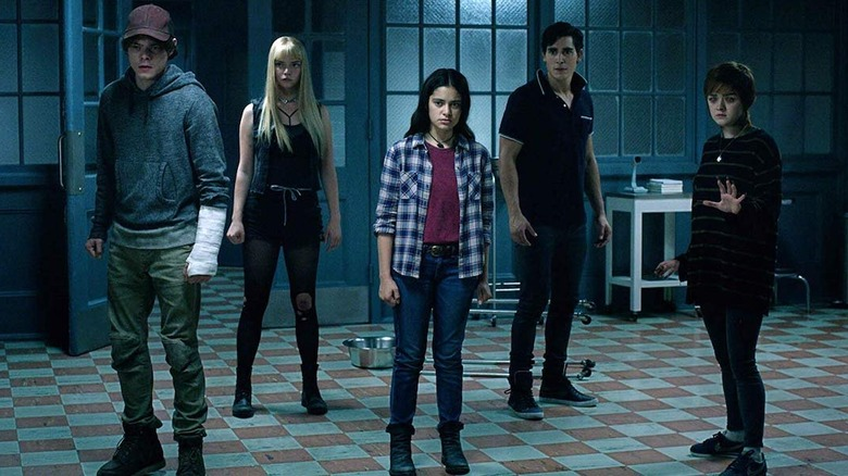 The cast of The New Mutants