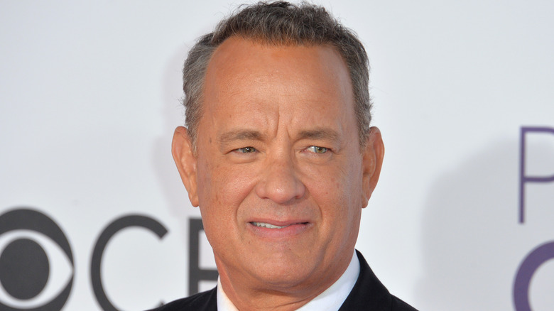 Tom Hanks at the 2017 People's Choice Awards