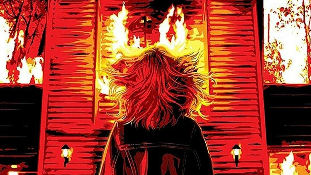 Firestarter Blu-ray promo art