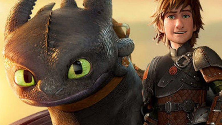How to Train Your Dragon Toothless and Hiccup