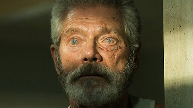 Don't Breathe Blind Man in close-up