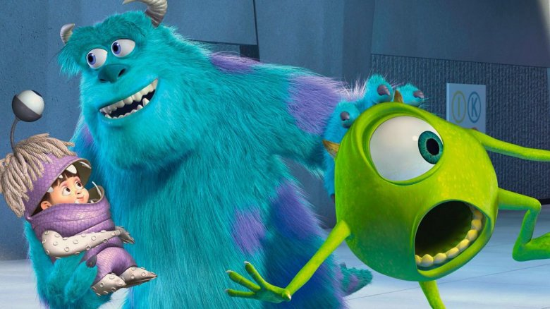 """Mike Wazowski and James P. """"Sulley"""" Sullivan from Monsters, Inc."""