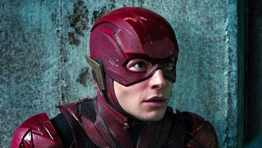 Ezar Miller as the Flash