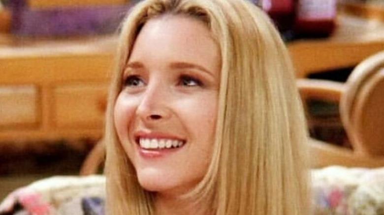 Phoebe Buffay smiling