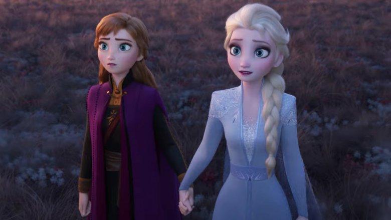 Anna and Elsa Frozen 2
