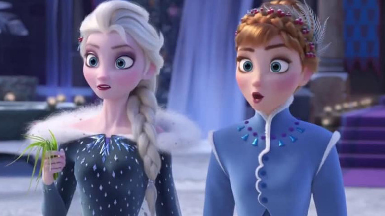 Anna and Elsa Olaf's Frozen Adventure