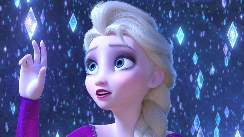 Idina Menzel as Elsa in Frozen 2