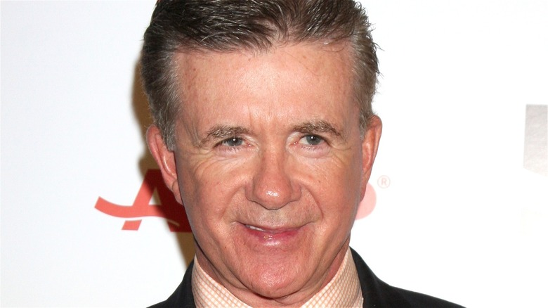 Alan Thicke smiling
