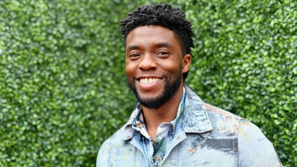 A photo of Chadwick Boseman smiling