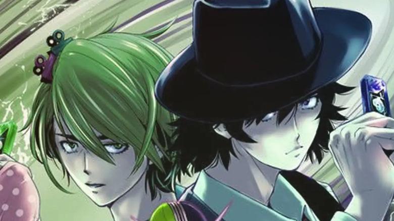 Phillip and Shotaro manga cover