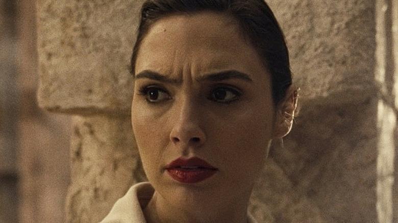 Gal Gadot Wonder Woman worried