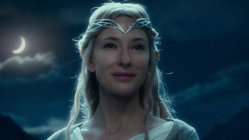Cate Blanchett in The Lord of the Rings, Galadriel