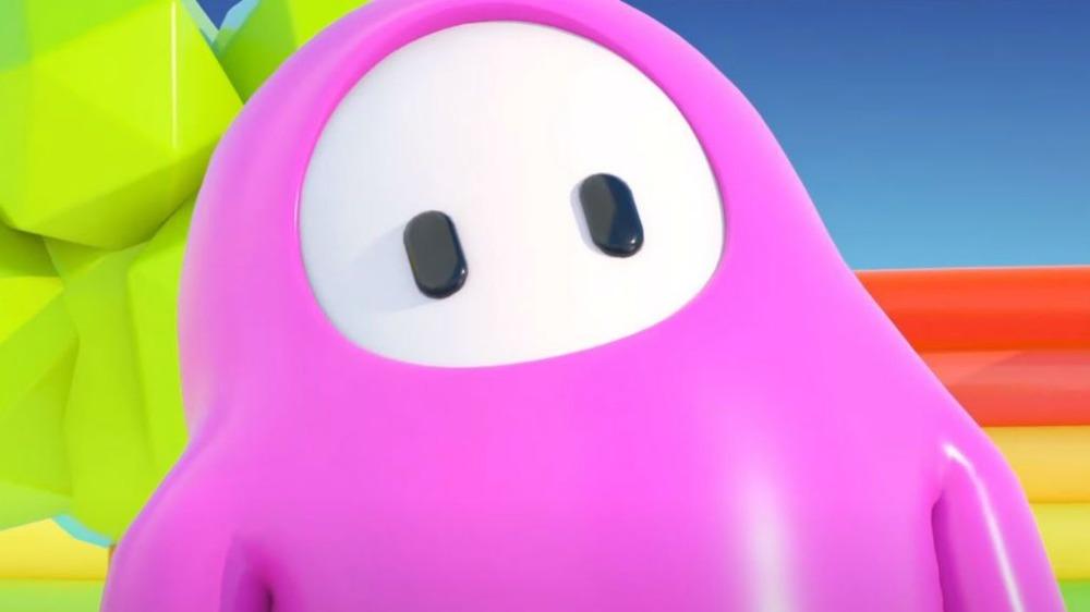 Fall Guys pink jellybean