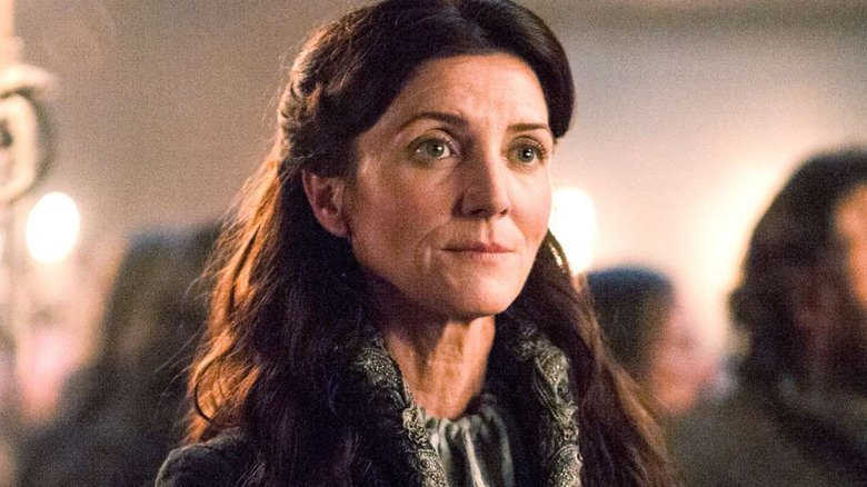 Michelle Fairley as Catelyn Stark on Game of Thrones