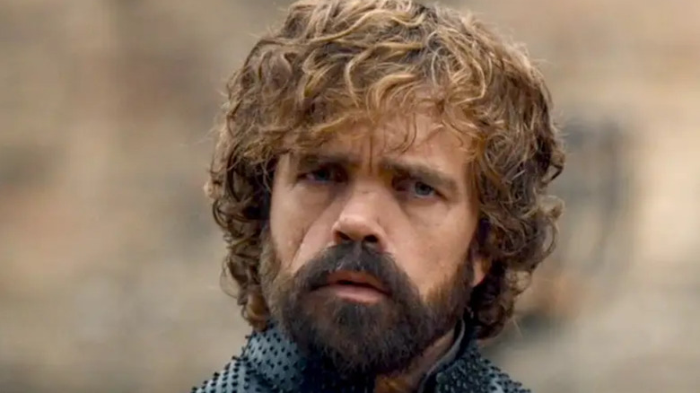 Tyrion frowning