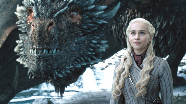 Daenerys Targaryen Emilia Clarke Game of Thrones season 8