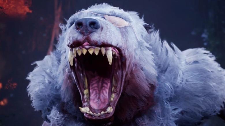 werewolf eyepatch roar