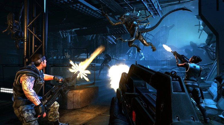 Screenshot from Aliens Colonial Marines