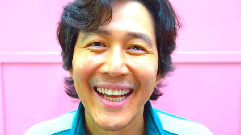 Squid Game Seong Gi-hun Smiles