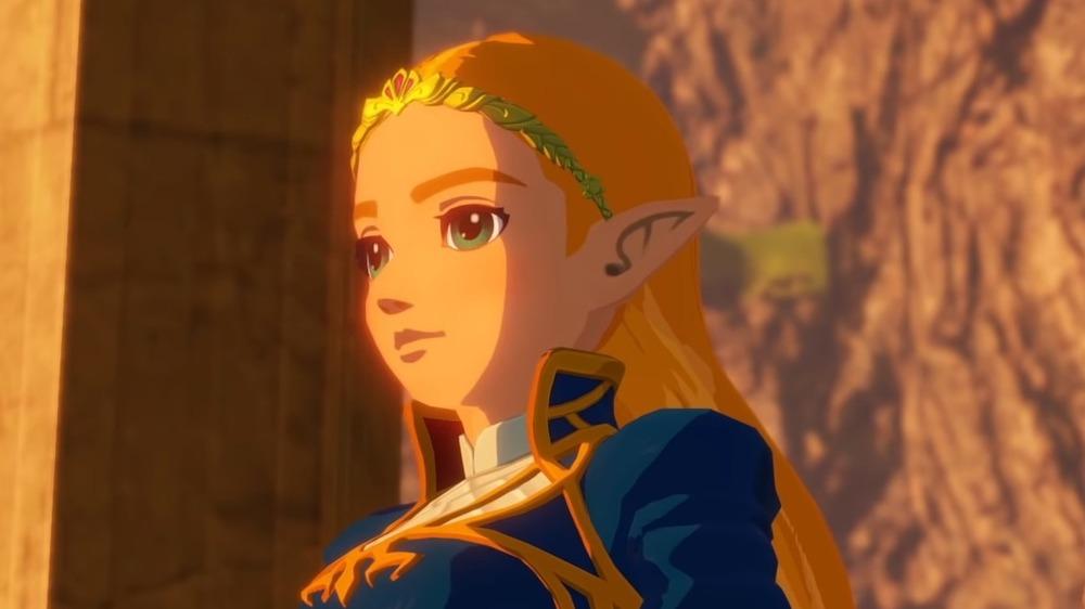 Zelda staring