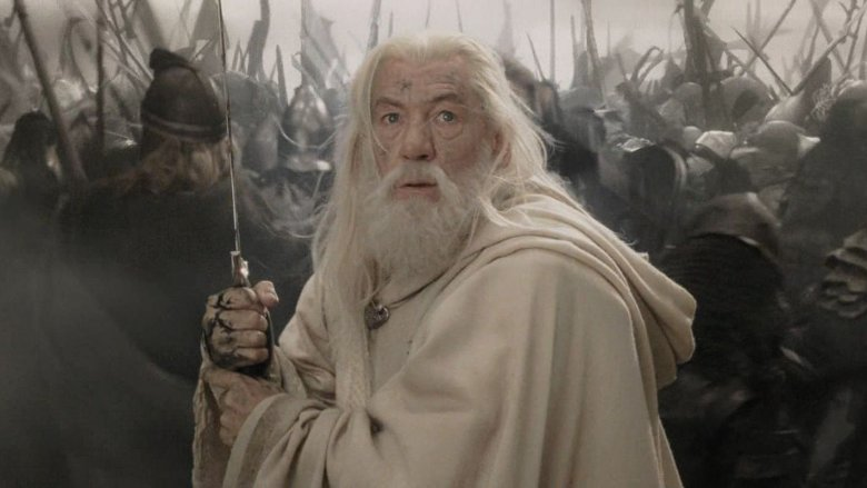 Gandalf the White in action