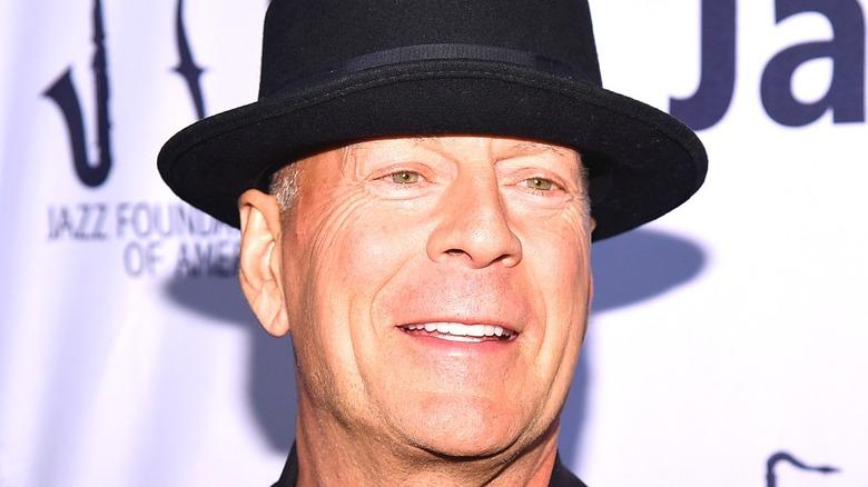 Bruce Willis fedora