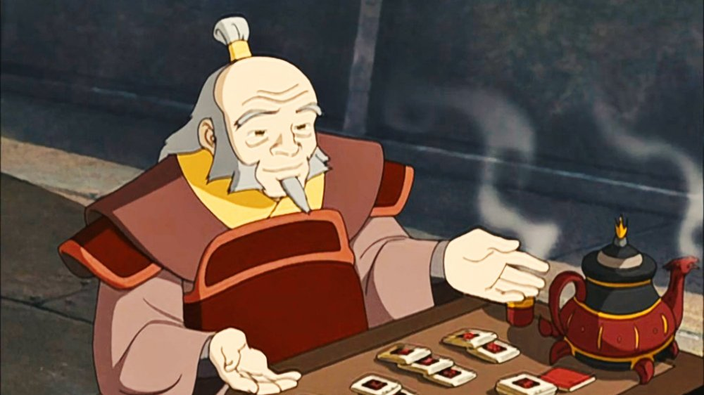 General Iroh on the deck in Avatar: The Last Airbender