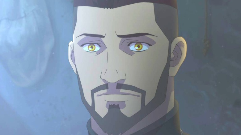 Animated Vesemir in 'Nightmare of the Wolf'