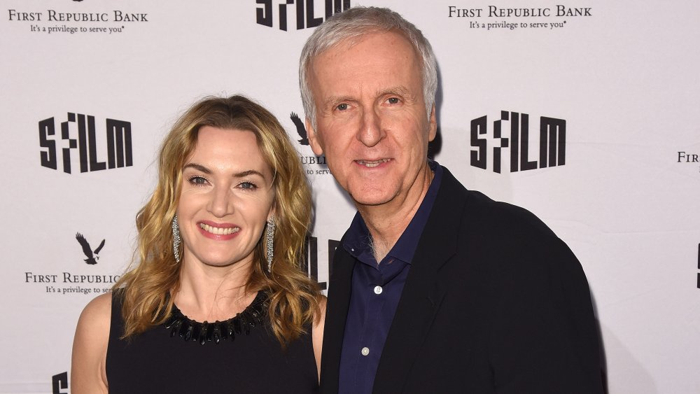 Kate Winslet and director James Cameron