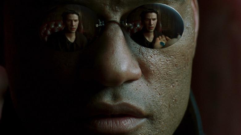 Lawrence Fishburne in The Matrix